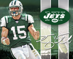 Camiseta Tim Tebow Green número 15 Nike New York Jets Jersey